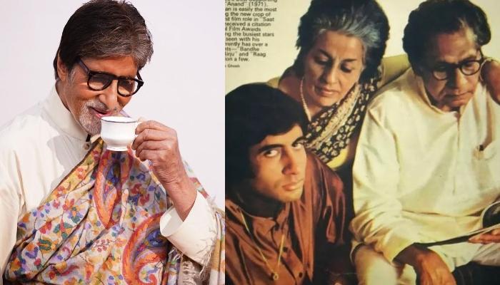 Amitabh Bachchan Pens Remembers His Parents, Harivansh Rai Bachchan And Teji Bachchan