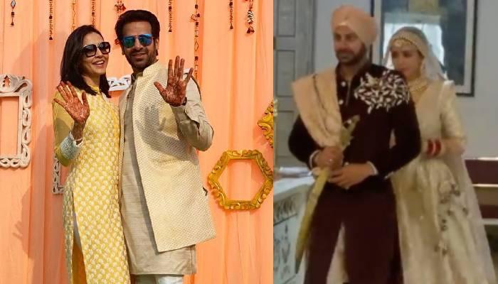 करणवीर मेहरा ने गर्लफ्रेंड निधि सेठ संग गुरूद्वारे में रचाई शादी, बेहद खूबसूरत दिख रहे दूल्हा-दुल्हन