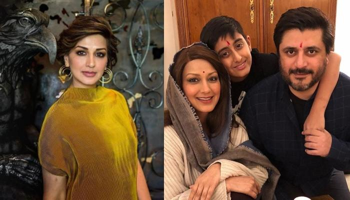 Sonali Bendre Wishes Hubby, Goldie Behl On His Birthday, He Twins With Son, Ranveer For Celebrations