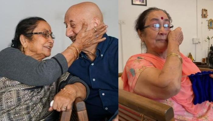 Anupam Kher Reveals The Best Compliment His Mom, Dulari Kher Gave Him, Shares An Emotional Video