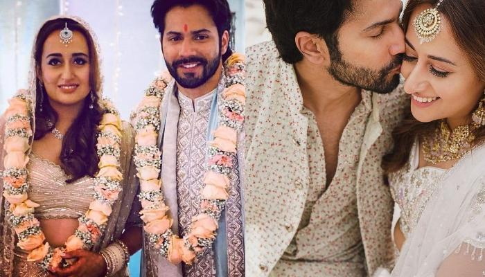Varun Dhawan's Wifey, Natasha Dalal Had Repeated Her Diamond Necklace For Her Wedding Day