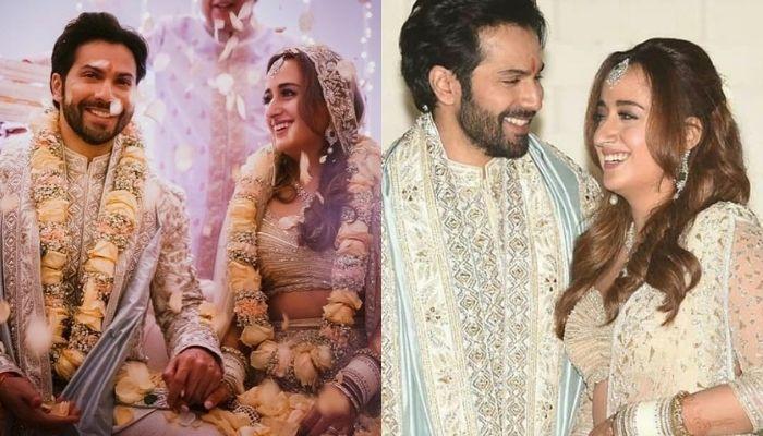 Varun Dhawan's 'Dulhan', Natasha Dalal Flaunts Her Huge Diamond Engagement Ring After Their Wedding
