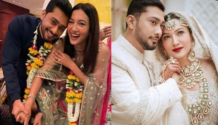 Gauahar Khan Shares Unseen Wedding Pictures To Celebrate Her One-Month Anniversary With Zaid Darbar