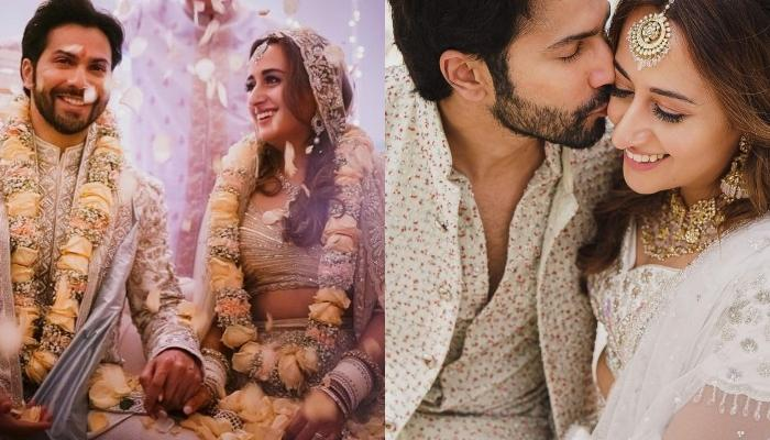 Varun Dhawan And Natasha Dalal Look Ethereal On Their 'Sangeet', Zoa Morani Shares Unseen Pictures