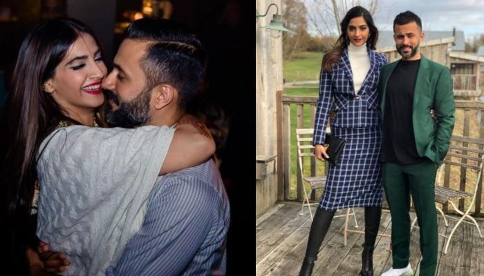 Sonam Kapoor Ahuja Steals Her Husband, Anand Ahuja's 'Diamond Motifs', His Reaction Is Pure Love