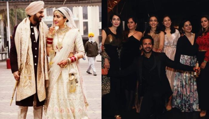 Karan Veer Mehra And Nidhi Seth Go Clubbing With Their Families, Actress Flaunts Her Bridal 'Chooda'