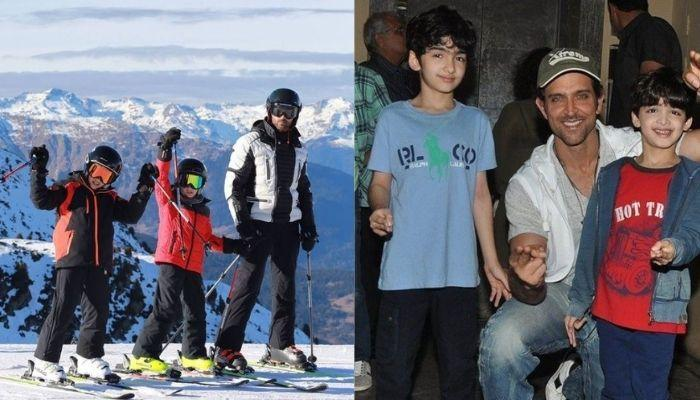 Hrithik Roshan Goes Hiking With His Kids, Hrehaan And Hridhaan And Ex Brother-In-Law, Zayed Khan