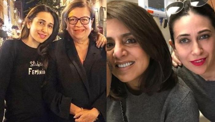 Karisma Kapoor's Then-And-Now Pictures With Babita From Neetu Kapoor's Wedding Prove Family Is Love