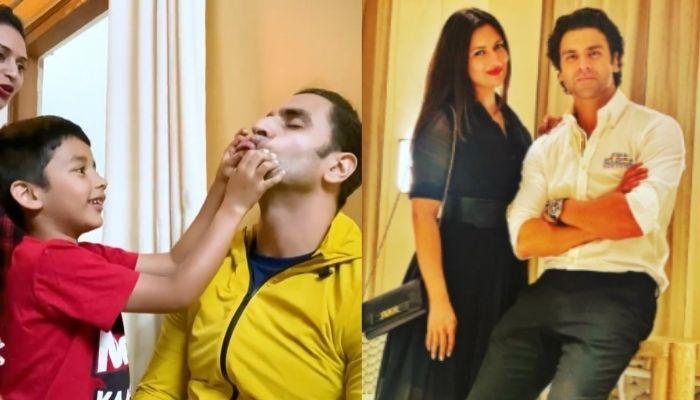 Divyanka Tripathi's Hubby Vivek Dahiya Fulfills 'Maasu' Duty As He Gets Tortured By His Saali's Kids