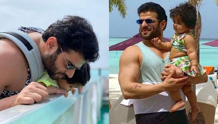 Karan Patel's Daughter, Mehr Gives Exactly Same Expression Like Her Daddy In This Adorable Picture