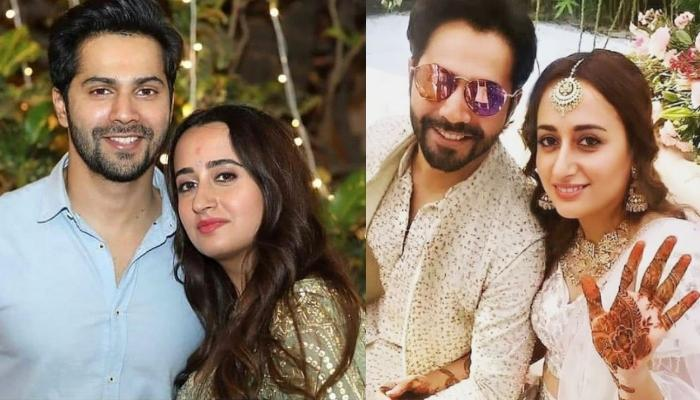 Varun Dhawan And Natasha Dalal Beam With Happiness In These Unseen Pictures From Their 'Mehendi'
