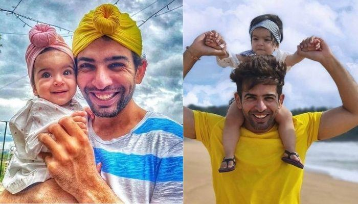 Jay Bhanushali Steals Daughter, Tara's Bow Hairband To Twin With Her, Wants To Know Who Looks Cute