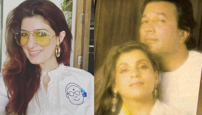 Twinkle Khanna Looks Adorable In An Unseen Picture With Late Rajesh Khanna And Dimple Kapadia