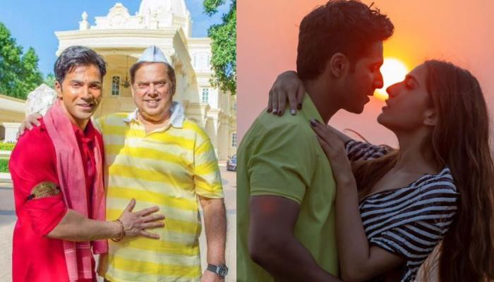 'Coolie No. 1' Director, David Dhawan Opens-Up About Directing His Son Varun Dhawan's Kissing Scenes