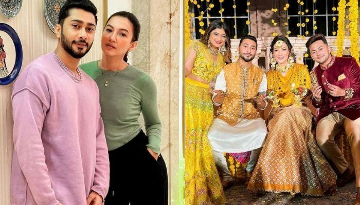 Gauahar Khan Gets A Grand Welcome From 'Sasural' After Coming Home From Her First Post-Wedding Shoot