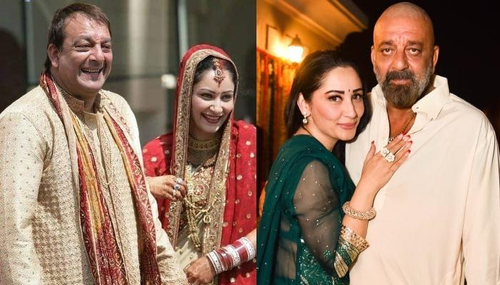 Unseen Wedding Photos Of Sanjay Dutt And Maanayata Dutt, Glimpses Of Sindoor And Saat Phere Rituals