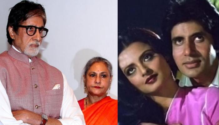When Amitabh Bachchan Lost His Temper At Jaya Bachchan Post An Interview About His Affair With Rekha