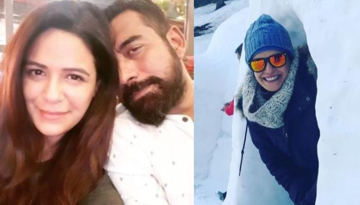 Mona Singh Enjoying Snow-Therapy In Manali With Hubby Shyam Rajagopalan Will Have You Pack Your Bags