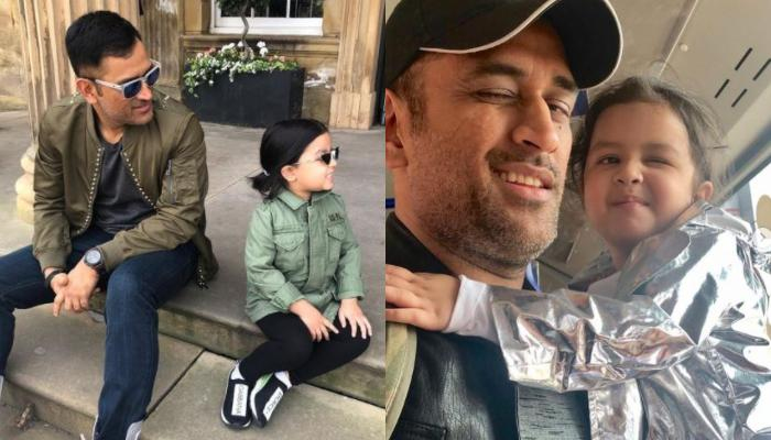 Mahendra Singh Dhoni Takes His Daughter, Ziva On A Ride But 'Not On A Bike', Baby Girl Shares Photo