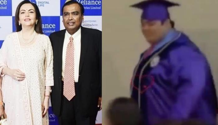 Mukesh Ambani Had Cheered For Son, Anant Ambani When He Had Received An Award From Mom, Nita Ambani