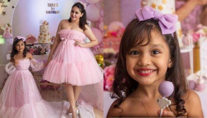 Mahhi Vij And Her Adopted Daughter, Khushi Indulge In A Skin-Care Routine, Takes Her For A Head Wash