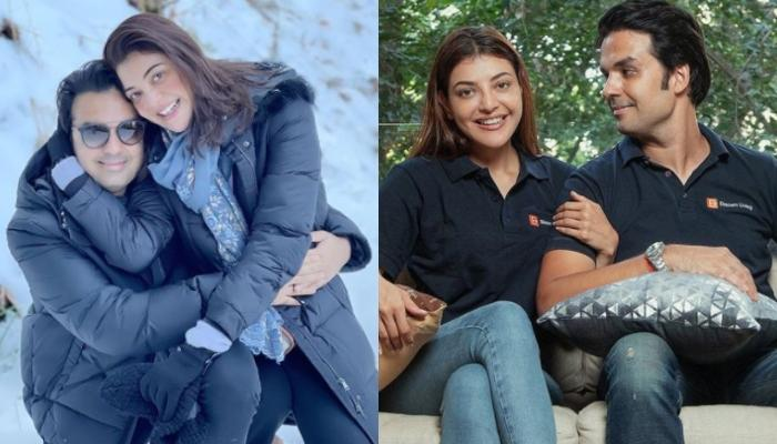 Gautam Kitchlu Shares An Adorable Picture Of Wifey, Kajal Aggarwal And Her Reaction Is Unmissable