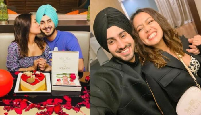 Neha Kakkar And Rohanpreet's Romantic Moments Make Our Heart Flutter, He Sings 'Do Gallan' For Her
