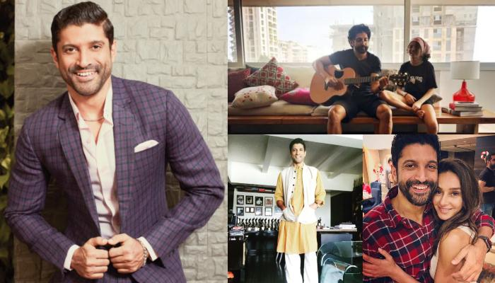 Inside Farhan Akhtar's 35 Cr Home 'Vipassana': From Man Cave, Retro Coffee Table To Cosy Living Room