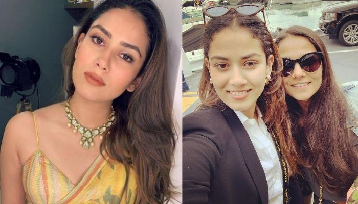 Mira Rajput Kapoor Wears A 'MK' Necklace Gifted To Her By Her Sister, Noor Wadhwani Two Years Ago