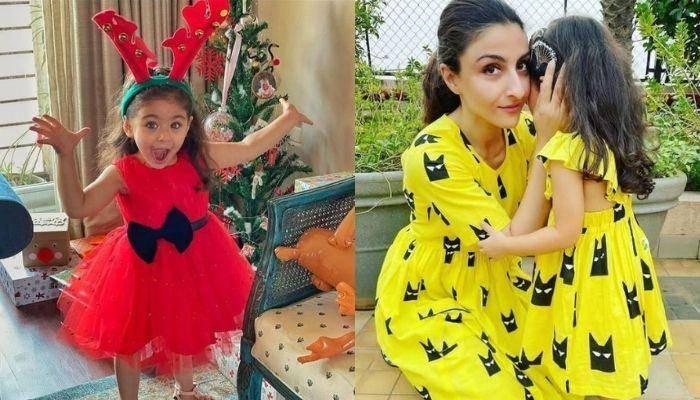 सोहा अली खान की नन्ही परी इनाया ने बनाया लड़की का खूबसूरत स्केच, देखें तस्वीर