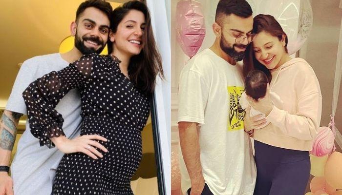 'Papa' Virat Kohli And 'Mamu' Karnesh React Like This On Anushka Sharma's First Photo With Daughter
