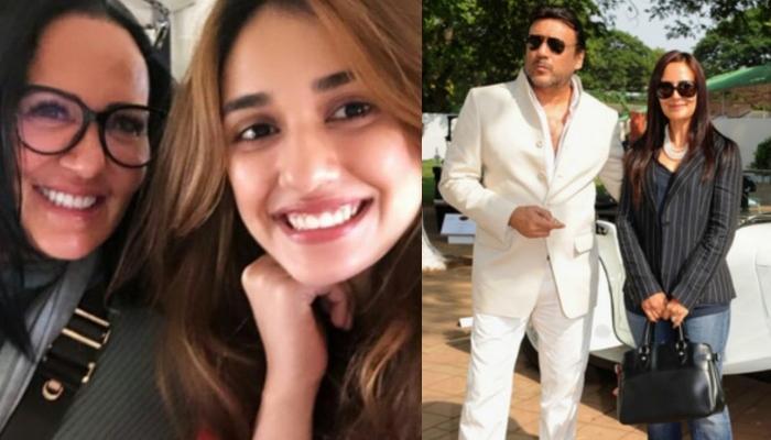 On Jackie Shroff's Birthday, His Wife Ayesha Shroff Wishes Him In A 'Bhidu' Way, Disha Patani Reacts