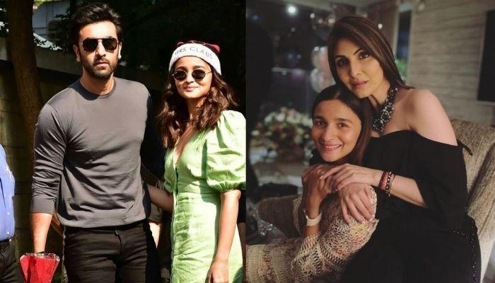 Alia Bhatt And Ranbir Kapoor Twin In Black For Their Fam-Jam With Riddhima Kapoor Sahni In Delhi