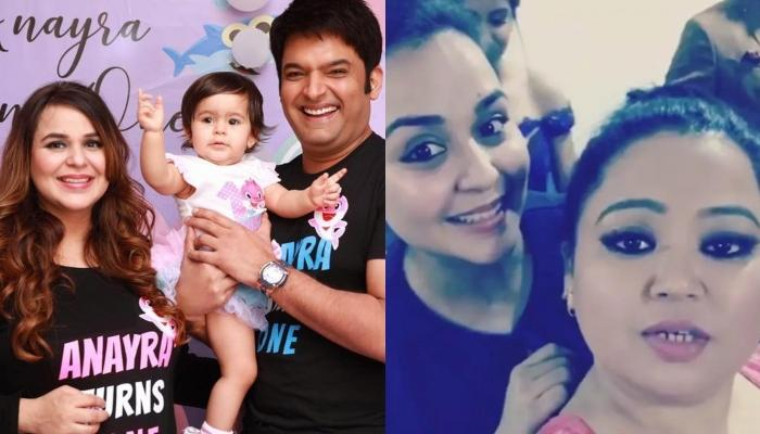 Kapil Sharma's Wife, Ginni Chatrath Twinned With Anayra Sharma For Baby Shower, Bharti Posts Picture