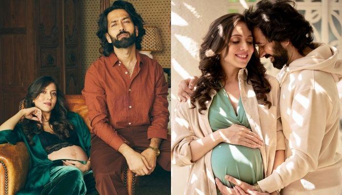 'Ishqbaaaz' Fame, Nakuul Mehta Twins With His Pregnant Wife Jankee Parekh In A Similar Floral Shirt