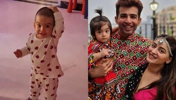 Mahhi Vij And Jay Bhanushali Sing Nursery Rhyme For Their Daughter, Tara, She Dances On It [VIDEO]