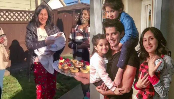 Karanvir Bohra's Wife Teejay Sidhu Celebrated Her Birthday With Her Newborn On The Streets Of Canada