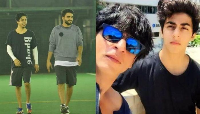 SRK's Son Aryan Khan Plays Cricket With His B-Town Friends, Caught Having A Fun Conversation [Video]