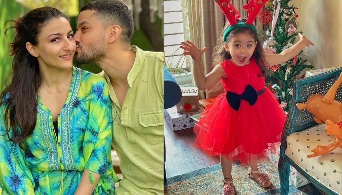 Soha Ali Khan Showers Her Little Princess, Inaaya Naumi Kemmu With Lots Of Kisses