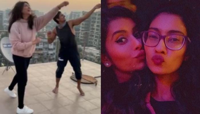 Sushmita Sen Is The Happiest Girl In The Universe With Rohman And Alisah, Renee And Charu Are In Awe