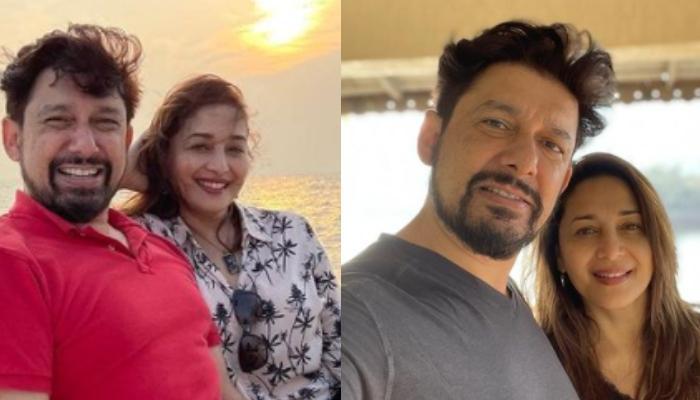 Madhuri Dixit Shares A Glimpse Of Hubby, Shriram Nene's Pre-Birthday Celebrations In A Social Bubble