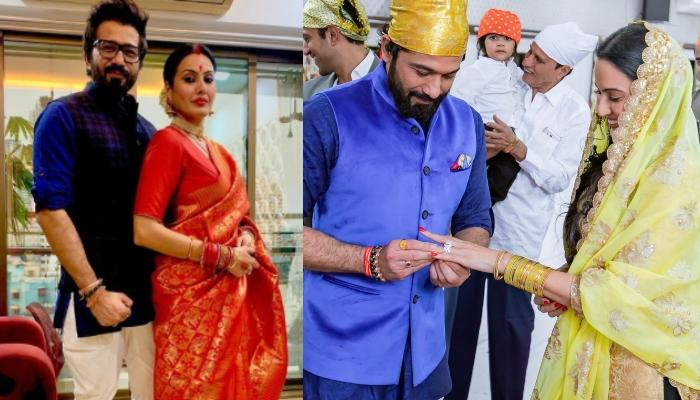 Kamya Panjabi Shares Glimpses Of Her Ring Ceremony With Shalabh Dang Ahead Of Their 1st Anniversary