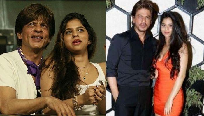 Shah Rukh Khan's Daughter, Suhana Khan Looks Exactly Like Him And This Photo Collage Is A Proof