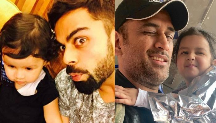 When Virat Kohli Shared Why He And Mahendra Singh Dhoni Were Scolded By Ziva Singh Dhoni For An Hour