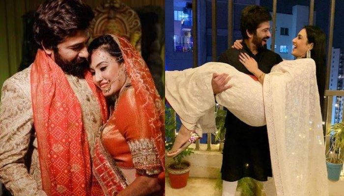 Kamya Panjabi Wishes Her Husband, Shalabh Dang On Their First Wedding Anniversary, Calls Him 'Angel'
