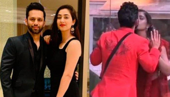 Bigg Boss 14: Rahul Vaidya Kisses His To-Be-Wife, Disha Parmar On Valentine's Day [Watch Video]