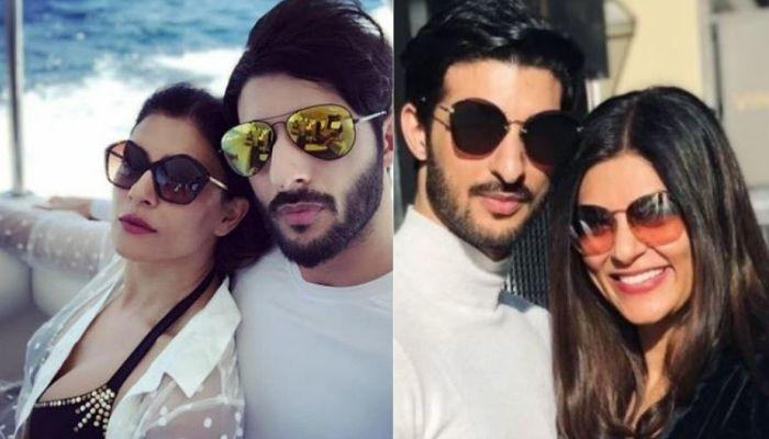 Sushmita Sen Puts An End To Breakup Speculations, Makes A Cute Appearance With Her Beau, Rohman