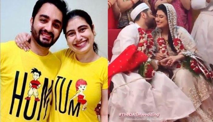 Parzaan Dastur Ties The Knot With GF, Delna Shroff, Shares Beautiful Pictures From His Parsi Wedding