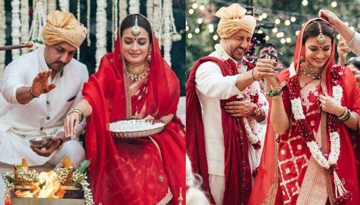 Dia Mirza And Vaibhav Rekhi's Wedding Officiated By A 'Lady Priest', Fans React On Their Decision