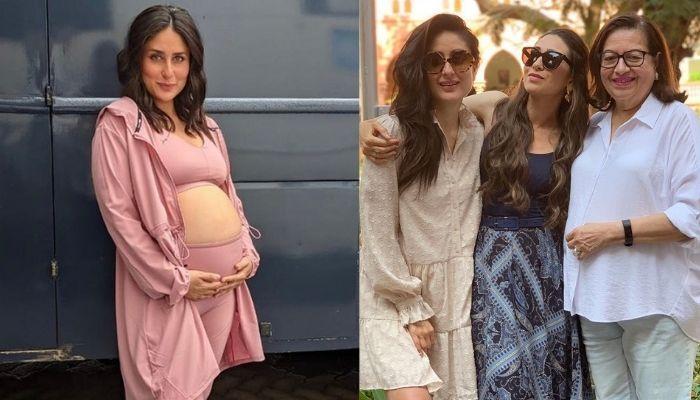 Kareena Kapoor To Deliver Baby Anytime Soon, Karisma, Babita Kapoor, Ibrahim Ali Khan Visit Her